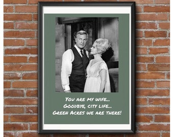 Green Acres Poster