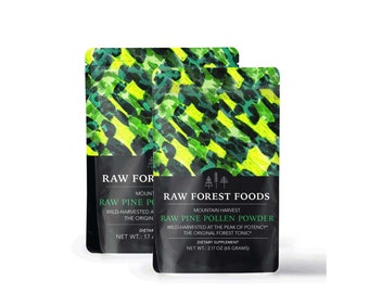 Pine Pollen Powder (Mountain Harvest) (RAW)