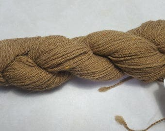 Alpaca Blend Yarn with Banana Silk, 3 ply Worsted, 200 yards