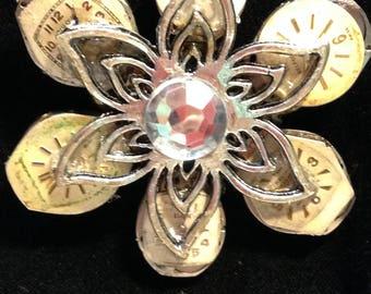 Steampunk Flower Pendant