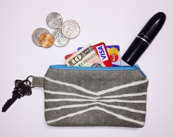 Zipper Pouch; Aspen Little Zipper Pouch Wallet; Small Wallet; Coin Purse; ID Wallet; Mini Wallet; Credit Card Wallet; ID Holder; Pouch Purse
