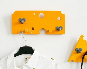 Hanger «Mice and cheese» Clothes hanger Clothes rack