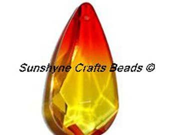 Swarovski Crystal Beads 6100 24x12MM Teardrop Pendant 1 Pc - Several Colors Available