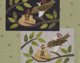Bertie's Spring (part 3) Breakfast Time #1423 Pattern by All Through the Night Folk Art Designs by Bonnie Sullivan