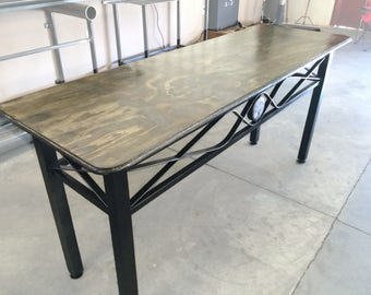 Metal Hall Table