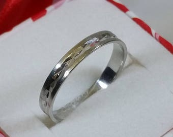 19 mm ring Silver 925 simple design rar SR574
