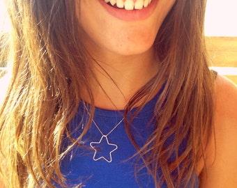 Silver Star Necklace necklace star • Minimal Jewelry • • • Dainty necklace necklace • Minimal • Layering necklace necklace