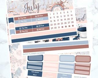 July Monthly Sticker Kit