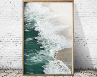 Beach Print Beach Photography Beach Art Ocean Print Ocean Wall Art Ocean Photography