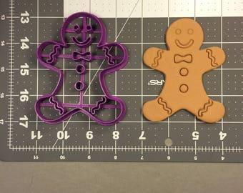 Gingerbread Man 104 Cookie Cutter
