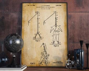 Judo Poster| Judo| Martial Arts| Judo Patent| Patent Prints| Judo Wall Art| Rustic Home Wall Art| Martial Arts Poster| Judo Dummy| HPH120