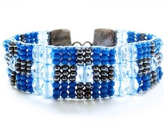 Bracelet Handloomed,September Birthstone,Handloomed Bracelet,Gift for her,December Birthstone,Beadloom Bracelet,Sundance Stylem,Boho Style