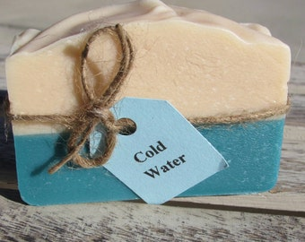 SOAP- Cold Water, Goats Milk Soap, FREE SHIPPING