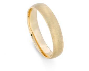9ct Yellow Gold, Ethical, 4mm Wedding Ring