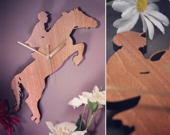 Horse & Rider Clock