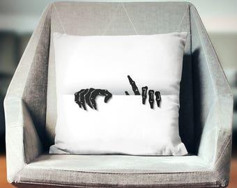 Zombie Cushion | Zombie Decoration | Zombie Décor | Zombie Pillow | Zombie Pillow Case | Zombie Throw Pillow | Zombie Pillow Cover