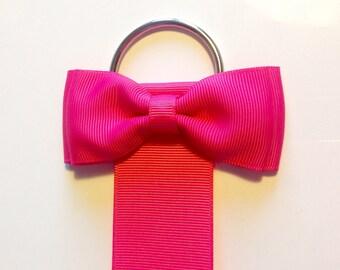 Hair bow/clip holder - choice of colours-  hair bow tidy, clip organiser