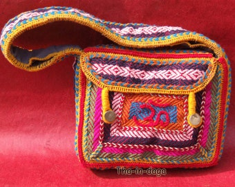 UNIQUE bag Baba Bag Sadhu Sadhu Boho 100% handicraft India Tha-daga Indian 10
