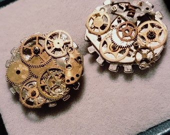 Steam punk inspired cufflinks