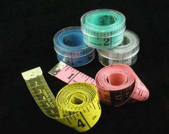 Tape Measurers-1pc Double sided tape measure - measures in inches and centimeters. 60 inch/150cm