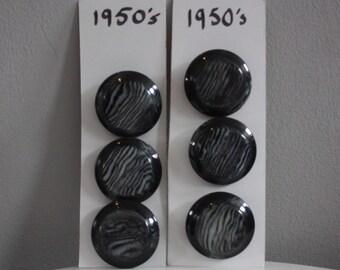 Vtg 50's Plastic Buttons