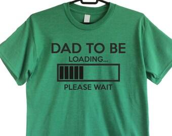 Väter Tag Geschenk neue Papa Geschenk Papa laden t Shirt neue Vater Geschenk t Shirt Vater Geschenk neue Vater Hemd neue Papa Papa werden bald Vater sein
