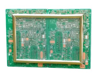 Circuit Board Magnetic Picture Frame (Fits 4x6 Photo) Upcycled Recycled Geek Chic Fridge Magnet