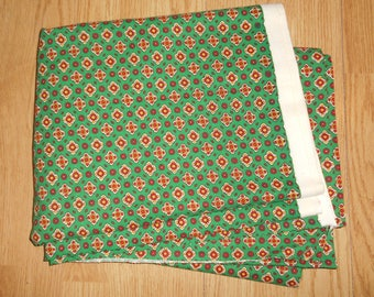 Vintage  LARGE piece Fabric ( 450cm X 150cm), Unused, French Furnisching Fabric, 1970's, Sabby Chic, retro, deco
