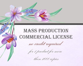 Mass Production Commercial license by WoodLandFoxy