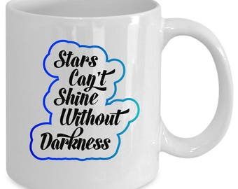 Inspirational white coffee mug. Funny Inspirational gift