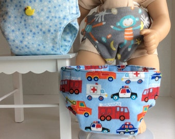 "DIAPERS THAT FIT Bitty Baby and other 15""Babydolls"
