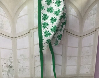 ST PATRICKS DAY, Surgeon Cap/Surgical Hat, Handmade