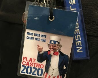 1C) The Personalized Flat Castro 2020 Luggage Tag - 7.00 (DEN Lounge Delivered <No Shipping Fee>)