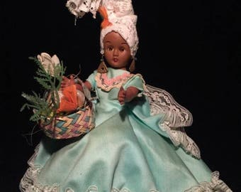 c.1980 CHIQUITA Doll In Dress VIRGIN ISLANDS