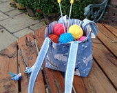 Knitting Bag. Starter Knitting Bag