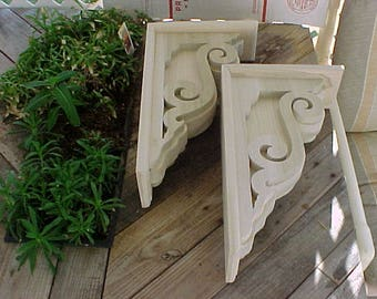 Victorian Historical Gingerbread Corbel (King Tut)1 Pair by VictorianWoods