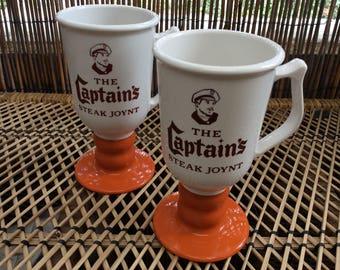 The Captain's coffee mug set of 2