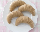 Felt Croissant Tea Party Play Food