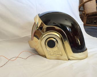 DAFT PUNK 2017 Manuel Gold Chrome Helmet, Super high quality, Rare collectible, without LEDs