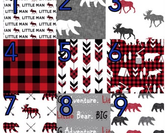 Custom crib bedding - bumpers, crib skirt, crib sheet, quilt
