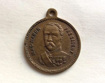 Medal, jeton President MacMahon 1808 -1893 French Republic
