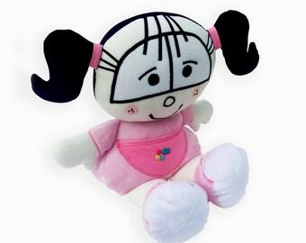 Lindy Original Push Toy | Handmade Soft Toy |