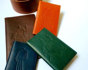 Small leather notebook, drinker