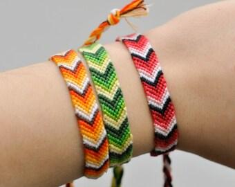 knotted friendship bracelet