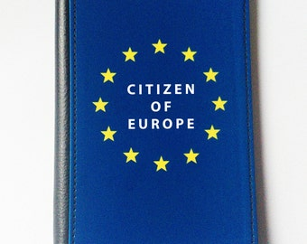 Citizen of Europe Passport Cover