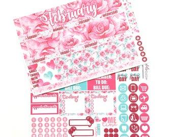 February Monthly Calendar Kit - EC or HP
