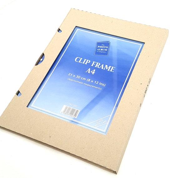 a4 glass clip frames high quality certificate display 21cm