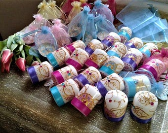 Wedding, WEDDING, wedding favors, tea lights 3.00 euro 4 candles. 00 euro