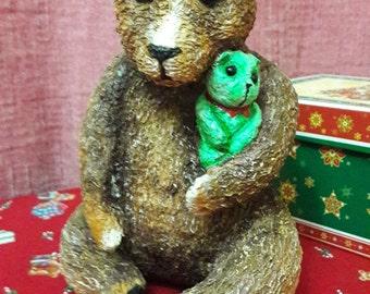 Teddy bear with a toy