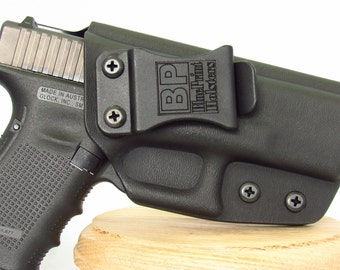 Glock 19 iwb holster made by BluePrint Holsters